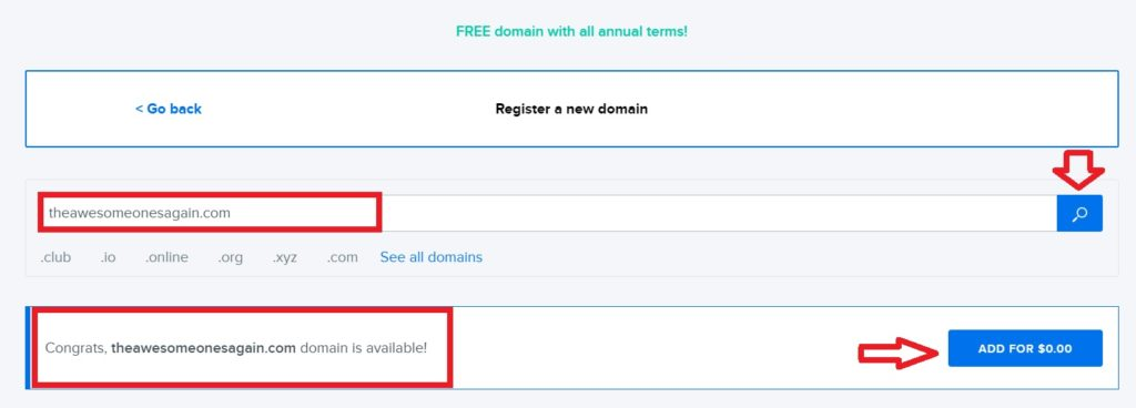 how to get a domain name for free4